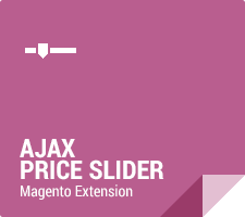 Halo Ajax Price Slider Magento Extension