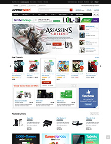 Halo GameRok - Responsive Game Store CE Theme